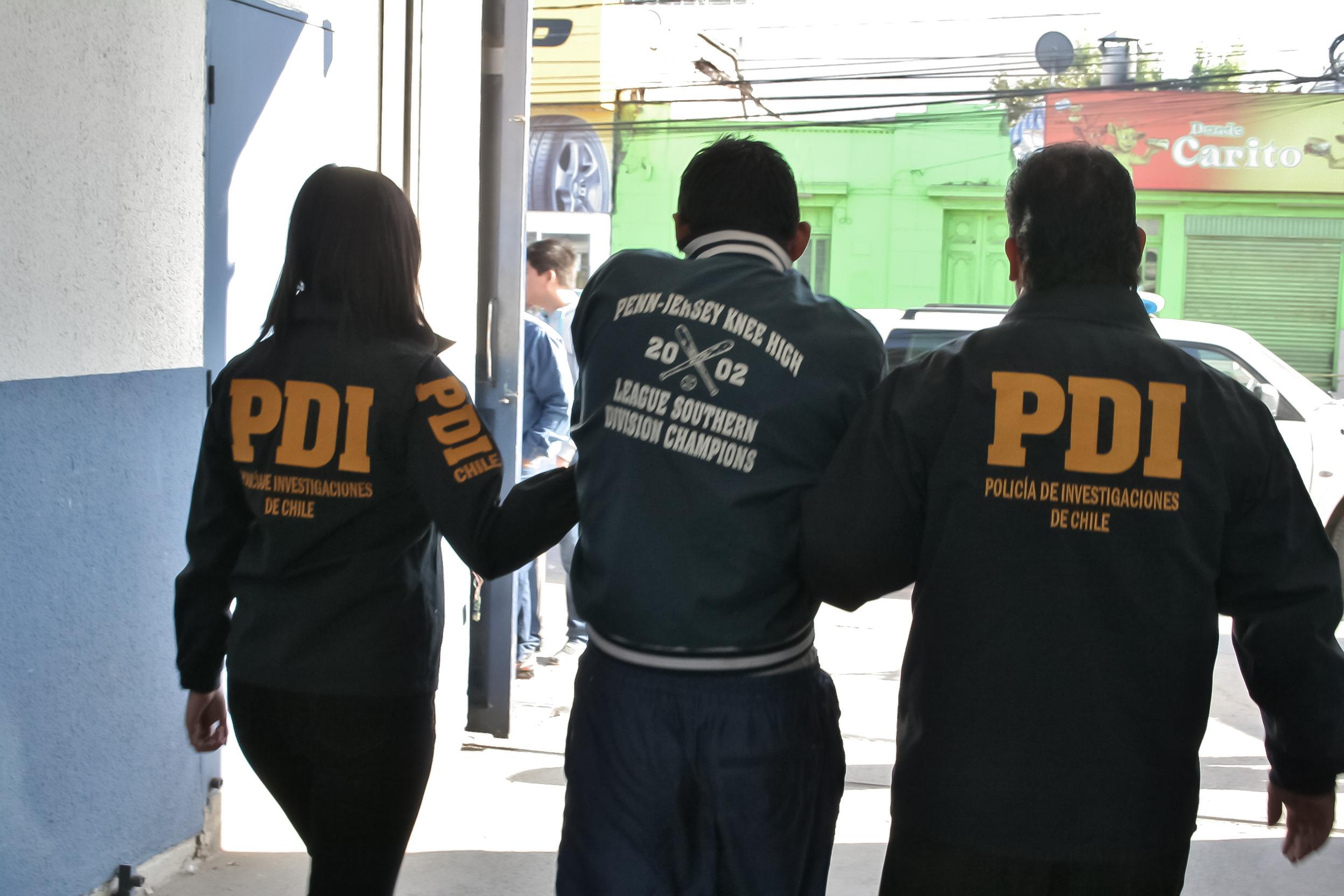 PDI detuvo a 85 sujetos en operativo regional antidelincuencia
