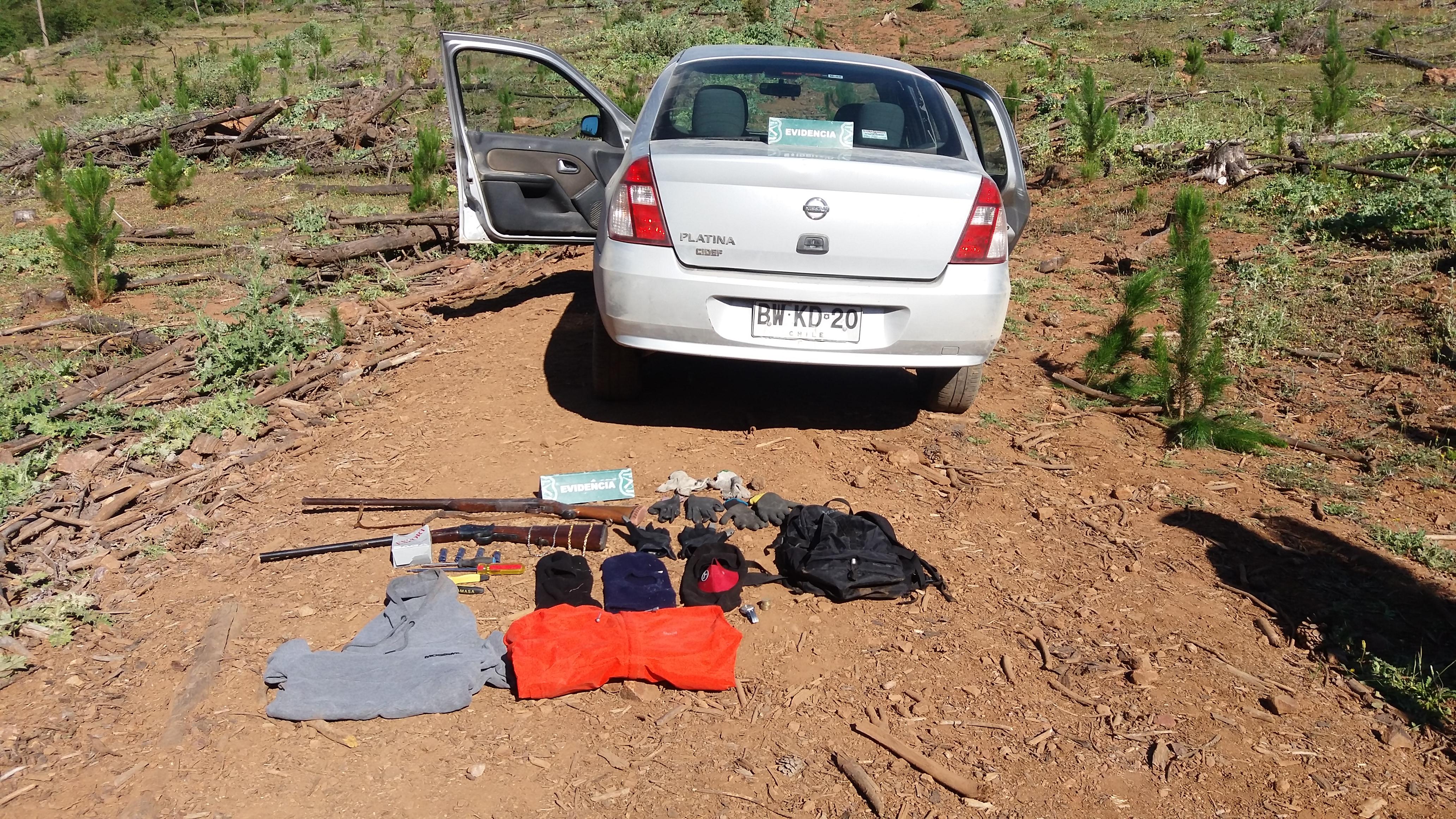 Espectacular persecución policial por robo en Pencahue termina con 4 detenidos