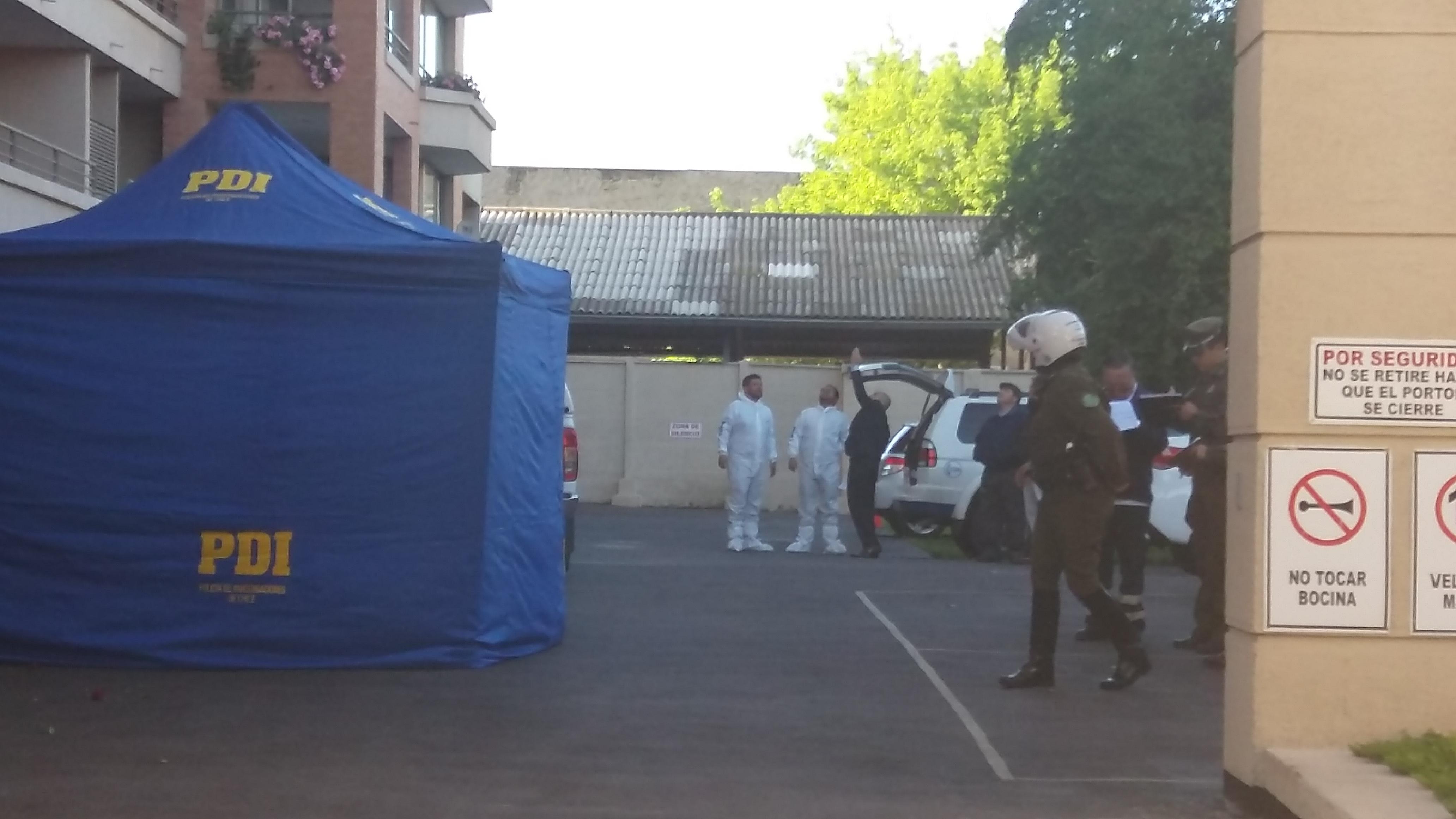 Muerte de anciana en el centro de Talca, se trató de  suicidio.