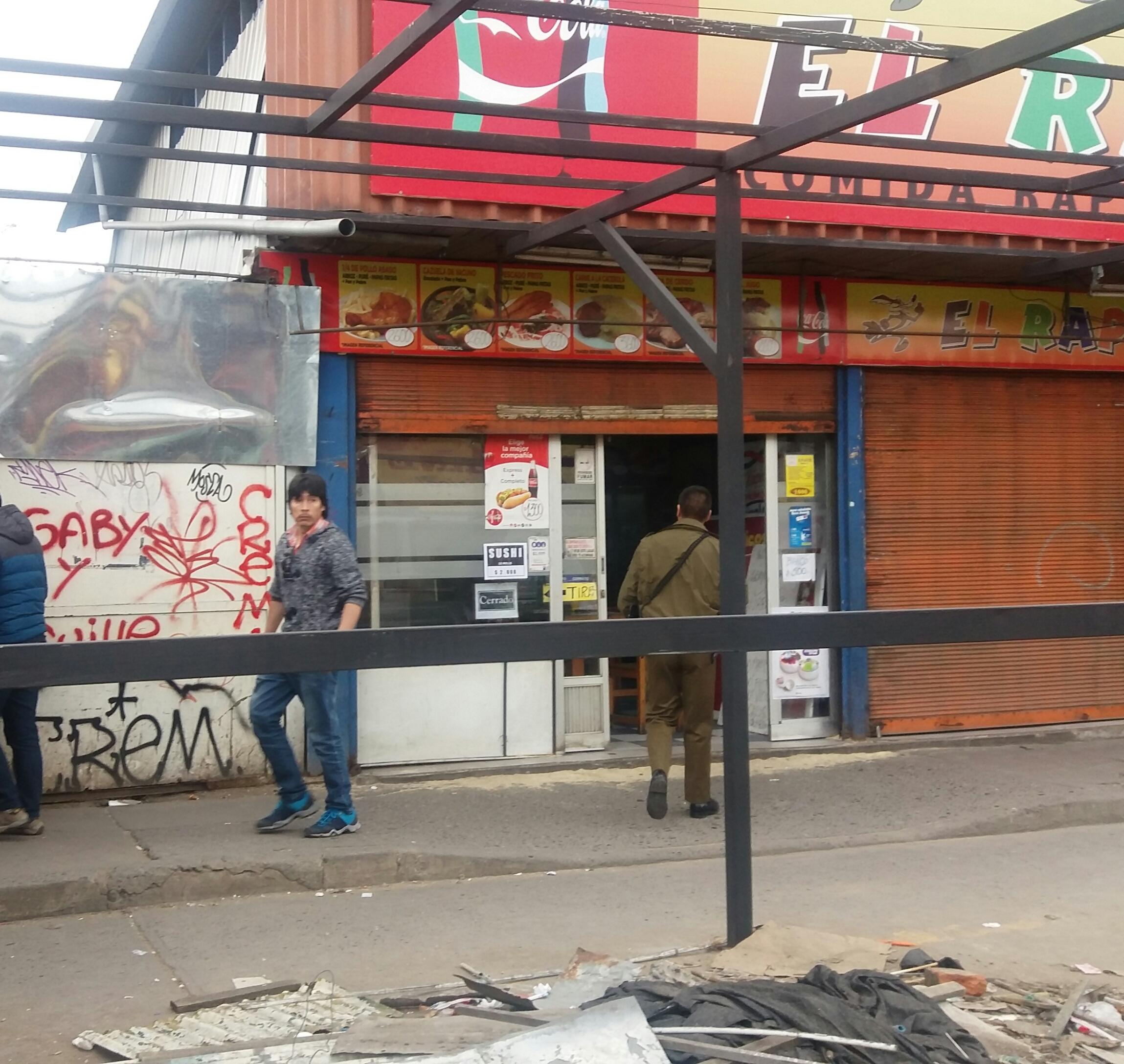 Millonario robo a restaurante el rápido en cercanías del terminal de  Talca