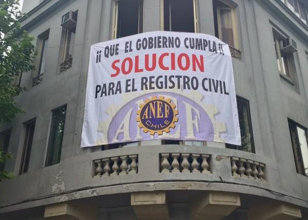 Sino existe acuerdo con el Ejecutivo ANEF anuncia nuevo paro de 72 hrs