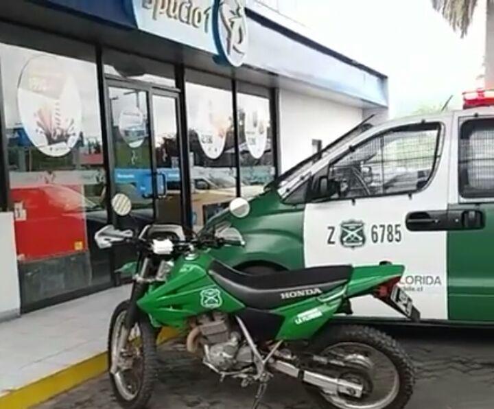 Violento asalto a mano armada,  sufre dependiente de servicentro Petrobras en Talca