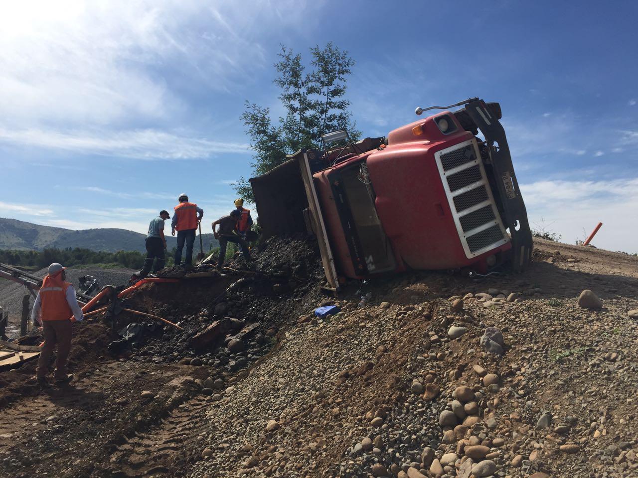 Trágica muerte de trabajador al interior de empresa de Áridos al norte de Talca