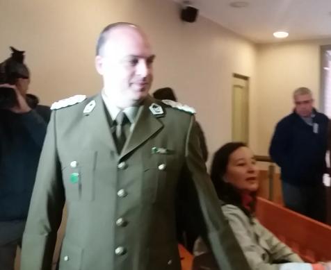 Fiscalía, formaliza por desacato a alto jefe de carabineros de la Prefectura de Talca.