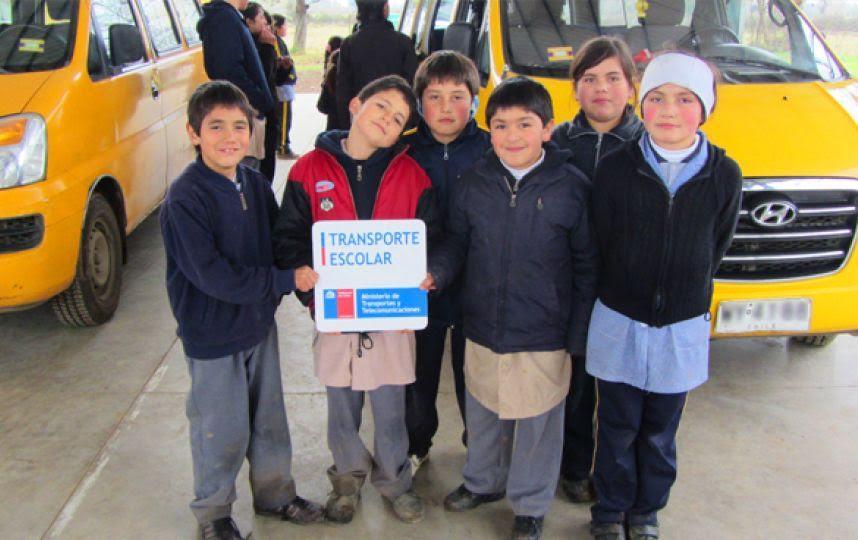 Comenzó licitación para 10 transportes escolares en la VII región