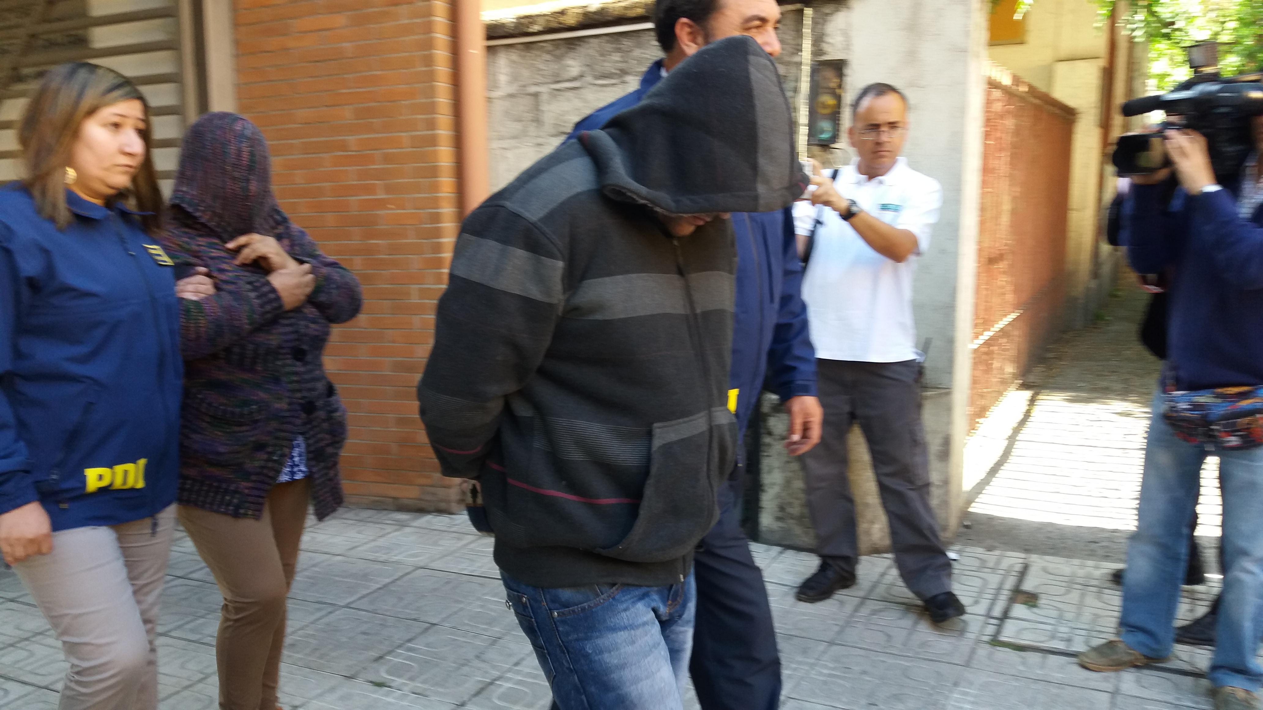MADRE E HIJO SON DETENIDOS POR LA PDI, IMPLICADOS EN EL TRAFICO DE DROGAS EN VIVIENDA DEL SECTOR ORIENTE DE TALCA