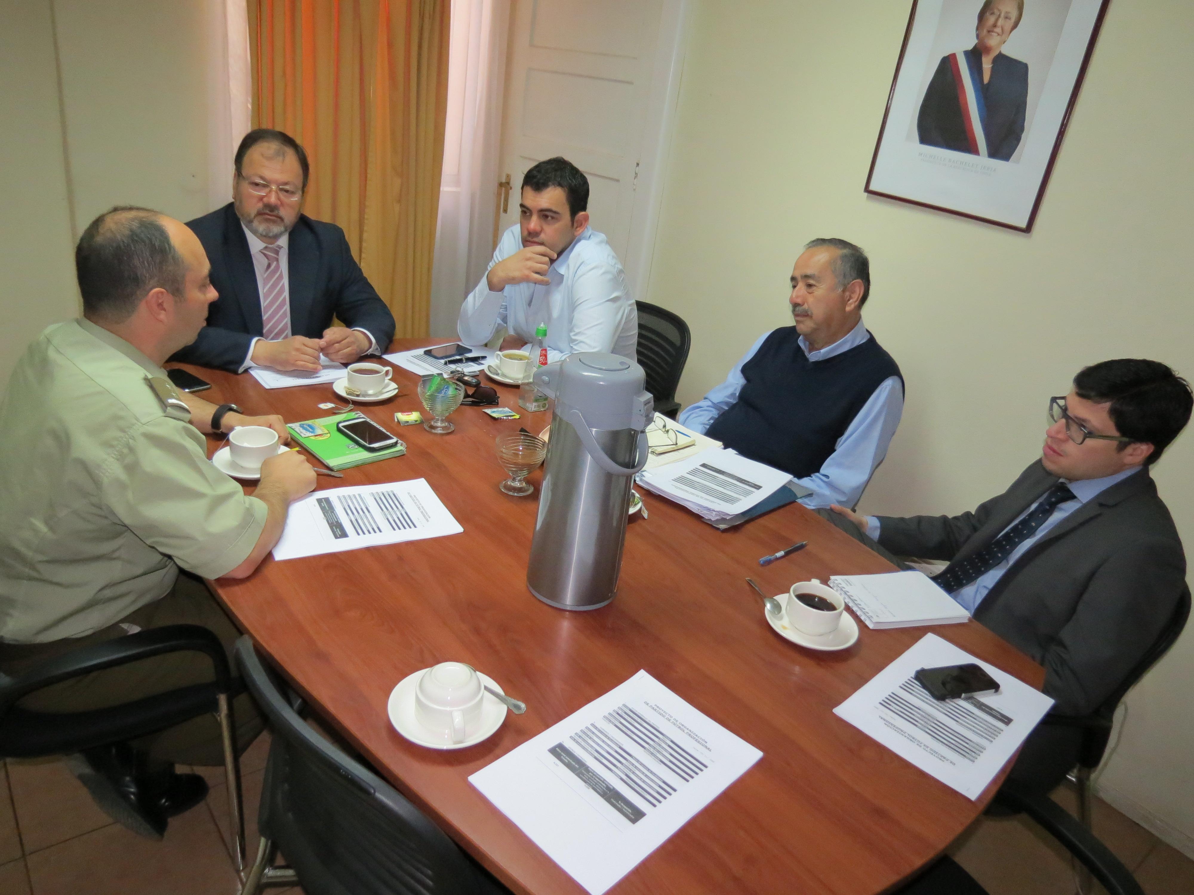 COMITÉ ESTADIO SEGURO  COORDINA ACCIONES PARA PARTIDO RANGERS Y DEPORTES VALDIVIA