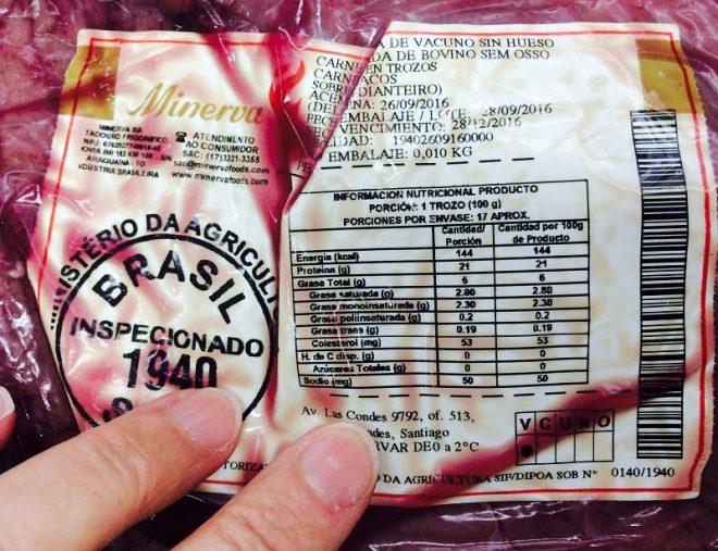 Minsal levanta alerta de inocuidad por carne en mal estado