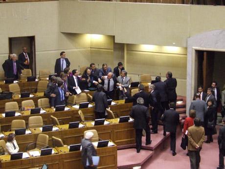 Cámara de diputados rechaza proyecto de reajuste para sector público