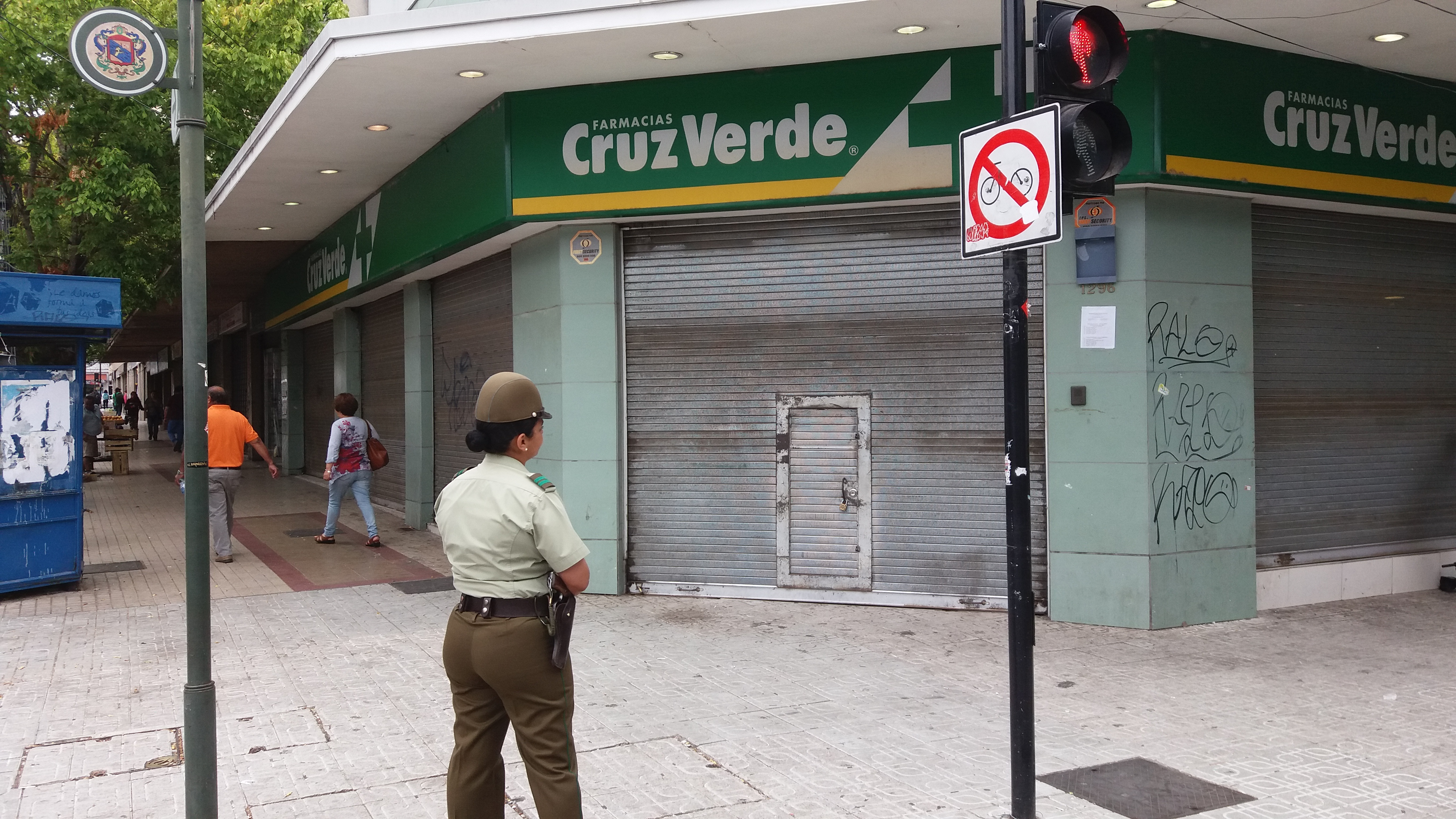 DAN DE BAJA A CARABINERO QUE HURTÓ DINERO MIENTRAS DESARROLLABA PROCEDIMIENTO POLÍCIAL POR ROBO EN FARMACIA DE TALCA.