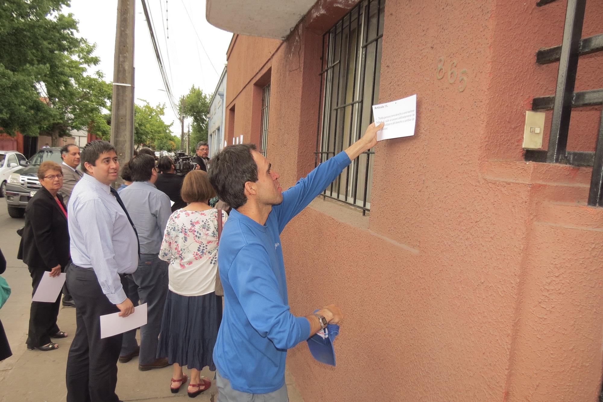 Gobernación de Talca conmemora 68 años de la Declaración de Derechos Humanos