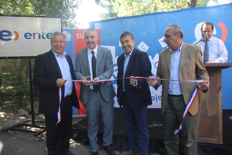 Localidad de La Suiza en San Clemente ya cuenta con Conectividad Digital