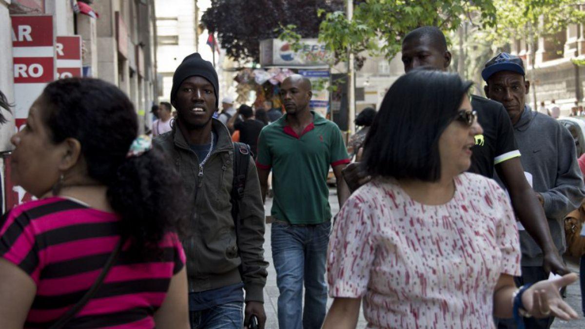 Aumentó en un 2,7% la población inmigrante en Chile