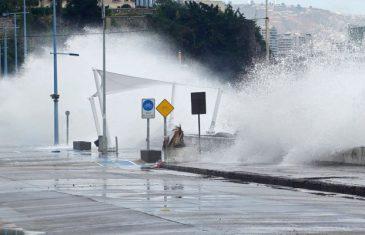 Alertas de marejadas se prevé para las costas del país