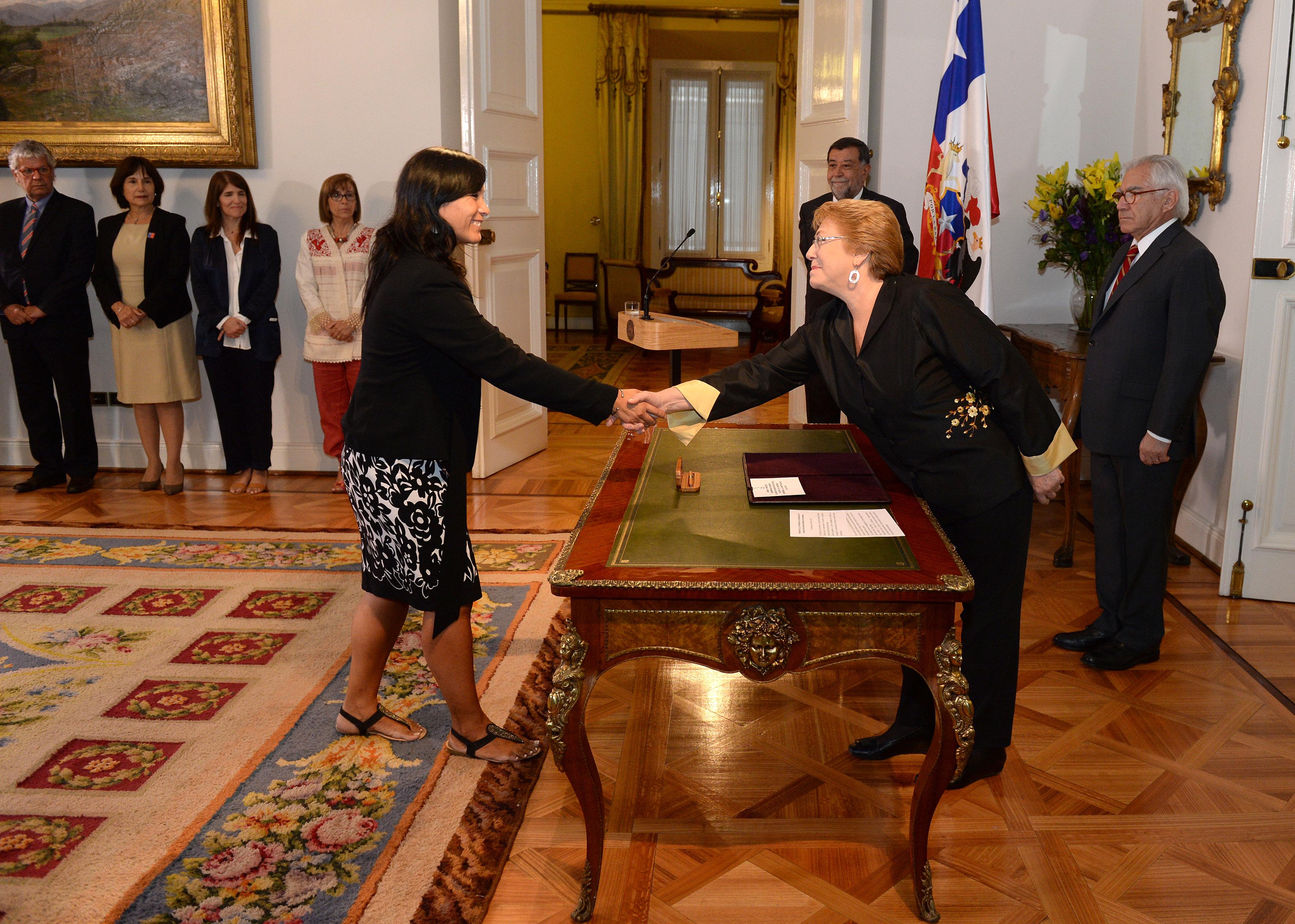 Docente de la UTalca asumió como nueva ministra de Transporte