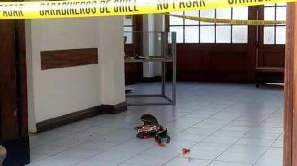 EN LINARES: CARABINERO REPELE ATAQUE DE HOMBRE QUE DISPARÓ A CUARTEL POLICÍAL
