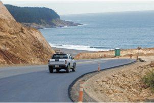 Nueva ruta costera entre Maule y Bio Bio