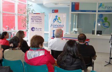 Hospital de Talca cuenta con sucursal de Fonasa