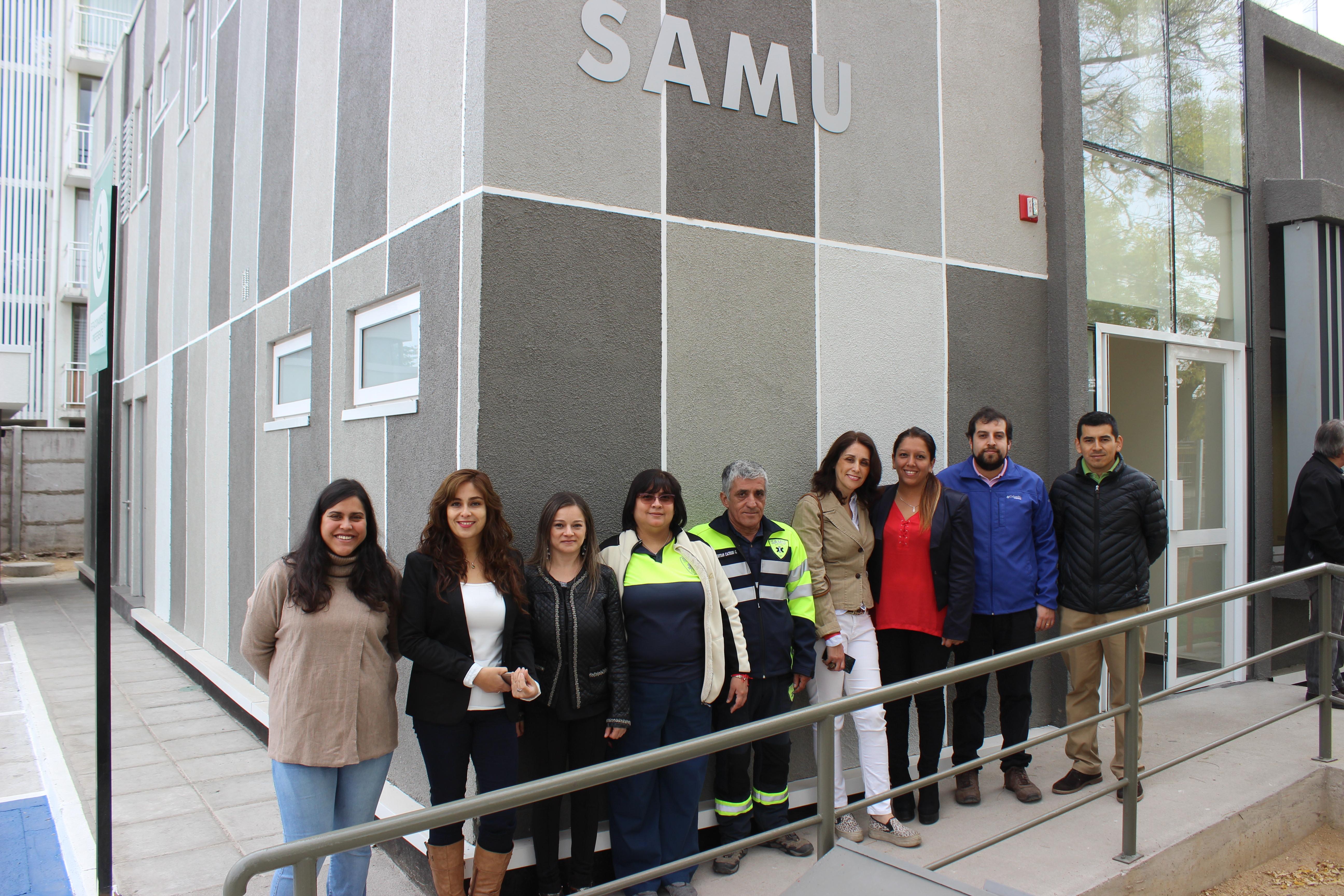 Nuevo centro regular Samu Maule