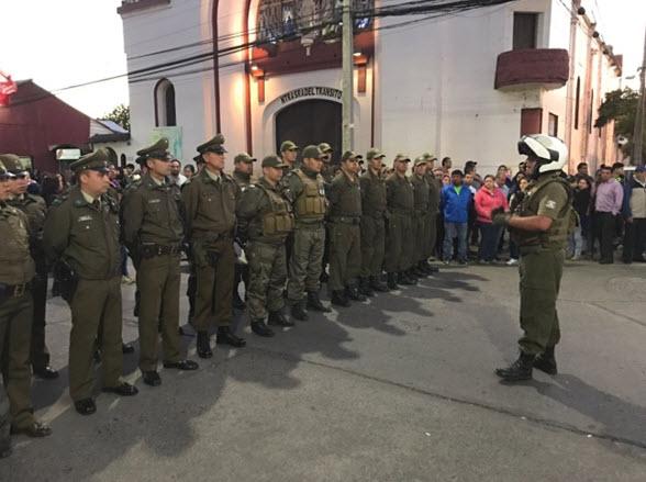 CARABINEROS DESARROLLA INTENSO TRABAJO PREVENTIVO Y DE SEGURIDAD EN MOLINA