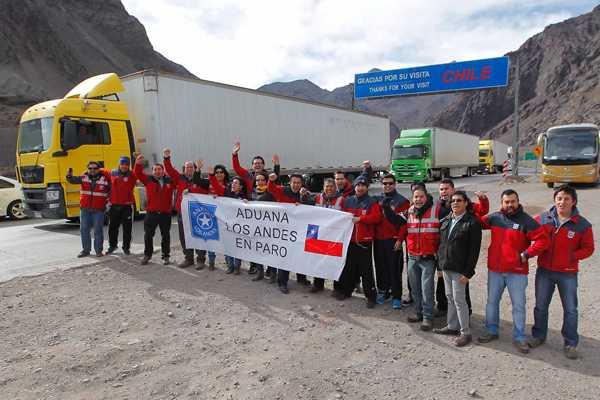 Plan de contingencia por  huelga de trabajadores en aduanas del país