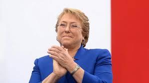Presidenta Bachelet alcanzó 30% de aprobación