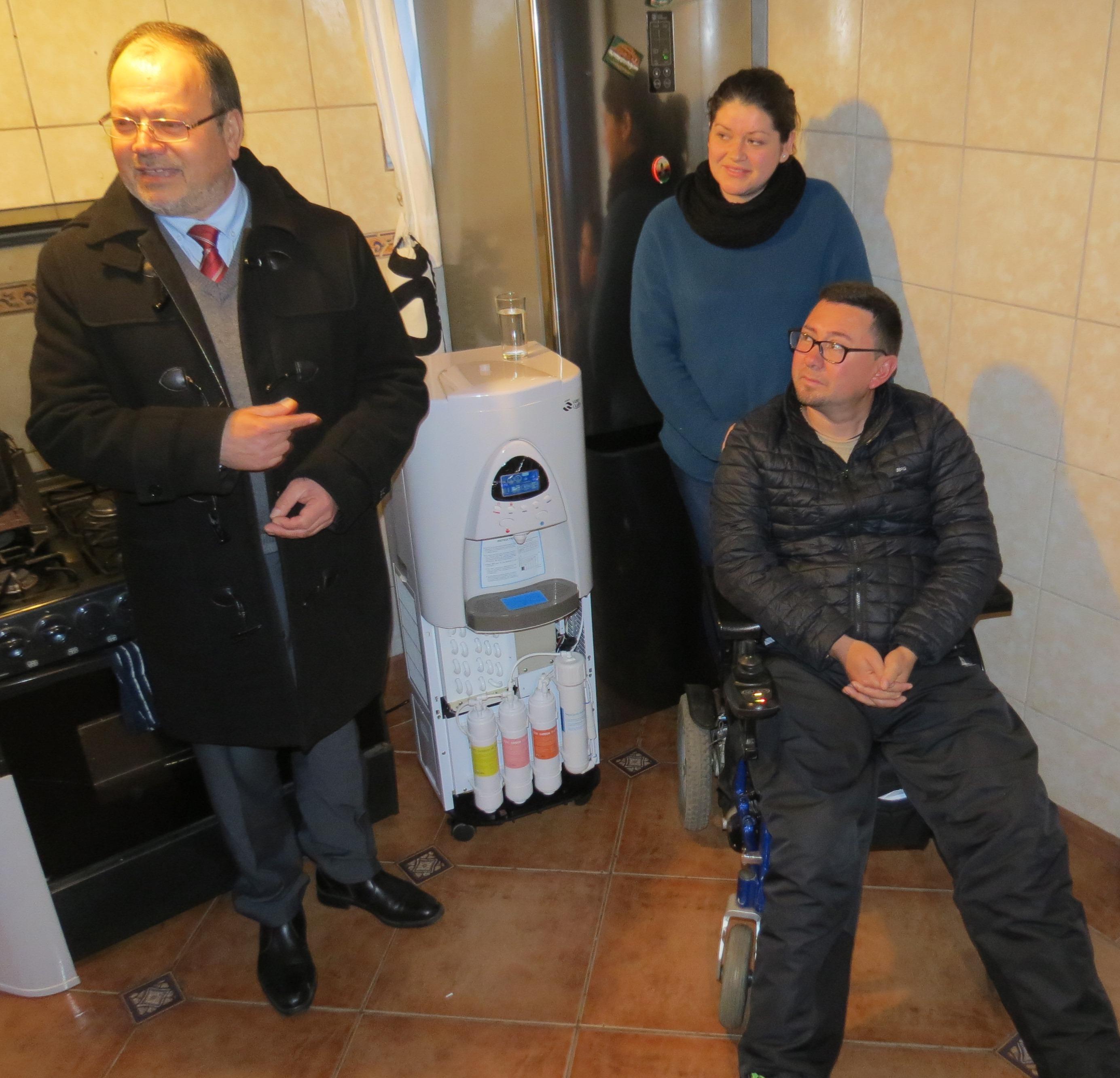 Generador de agua atmosférica para zonas con escases hídrica