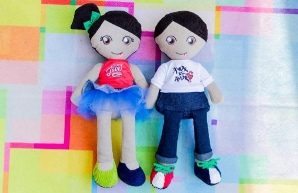 Iguales lanza muñecos que promueven la diversidad