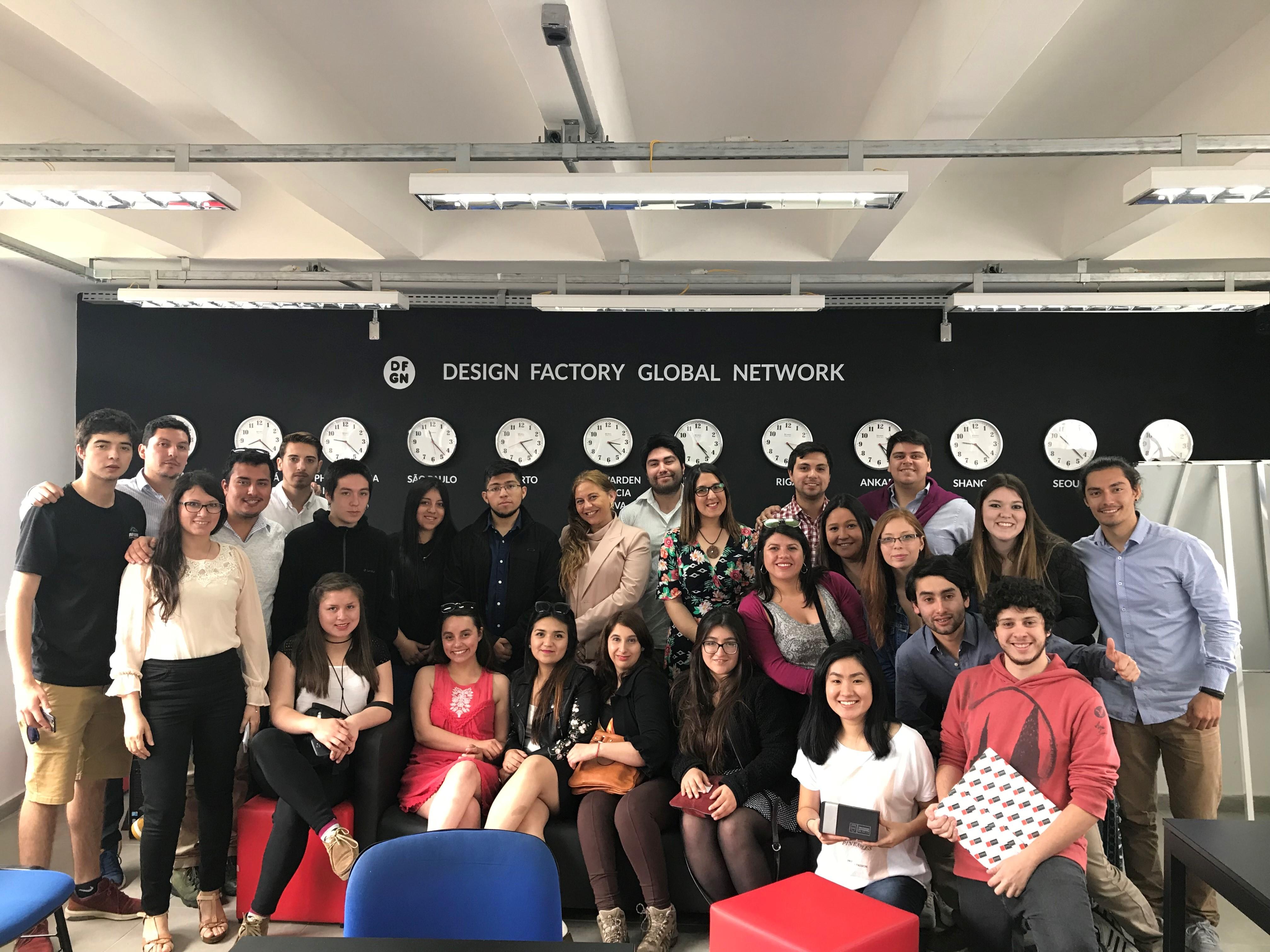 Alumnos del Minor de Innovación y Emprendimiento  de la U. Autónoma visitaron Sao Paulo