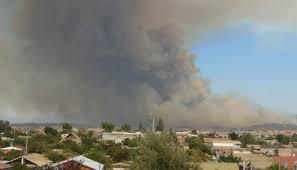 Ocho regiones del país con alerta por incendios forestales