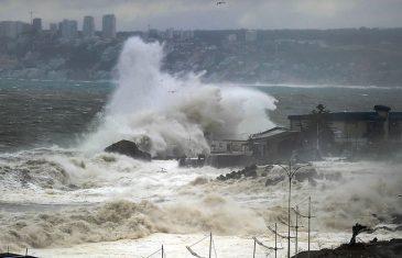 Pronostican marejadas para este fin de semana en la costa del Maule