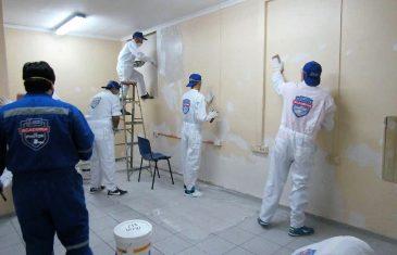 Internos de la cárcel de Talca se capacitaron como Pintor Profesional Arquitectónico