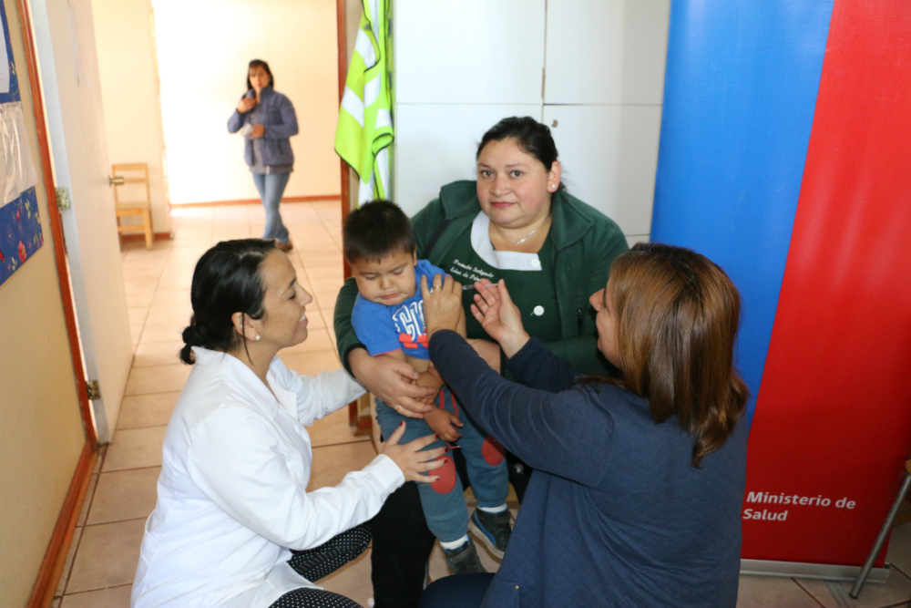 Maule lidera vacunación de la Influenza a nivel nacional