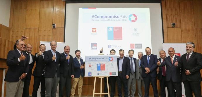 """Entidades de educación superior se suman a programa """"Compromiso País"""""""