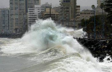 Onemi declaró alerta temprana preventiva por marejadas