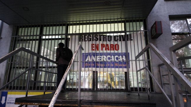 Registro Civil comenzó con movilizaciones a nivel nacional