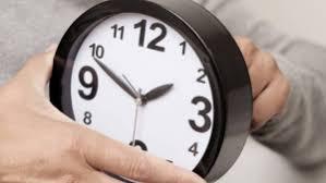 Este sábado 7 de septiembre se cambia la hora