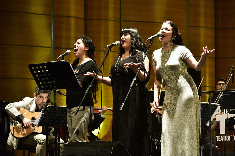 Concierto solidario en el Teatro Regional del Maule