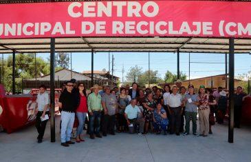 Tercer centro de reciclaje en Talca