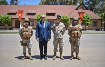 Asumió nuevo comandante del regimiento Talca