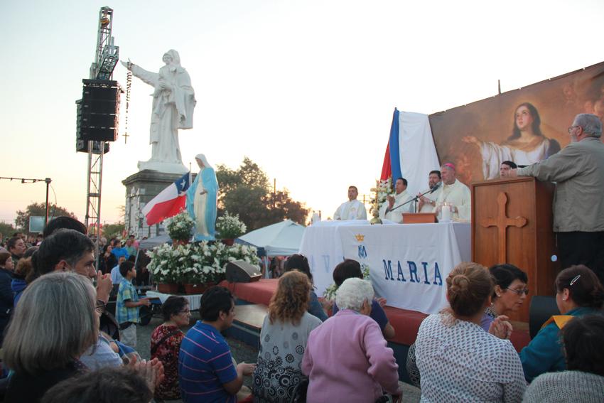 Suspenden procesiones religiosas en Talca y Curicó
