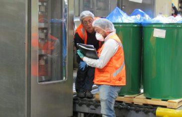Directora Regional del Trabajo de la Región del Maule realiza fiscalización a empresa Sugal Chile