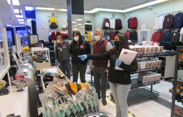 Dirección del Trabajo fiscalizó tiendas del retail en Talca y detectó infracciones de seguridad y salud