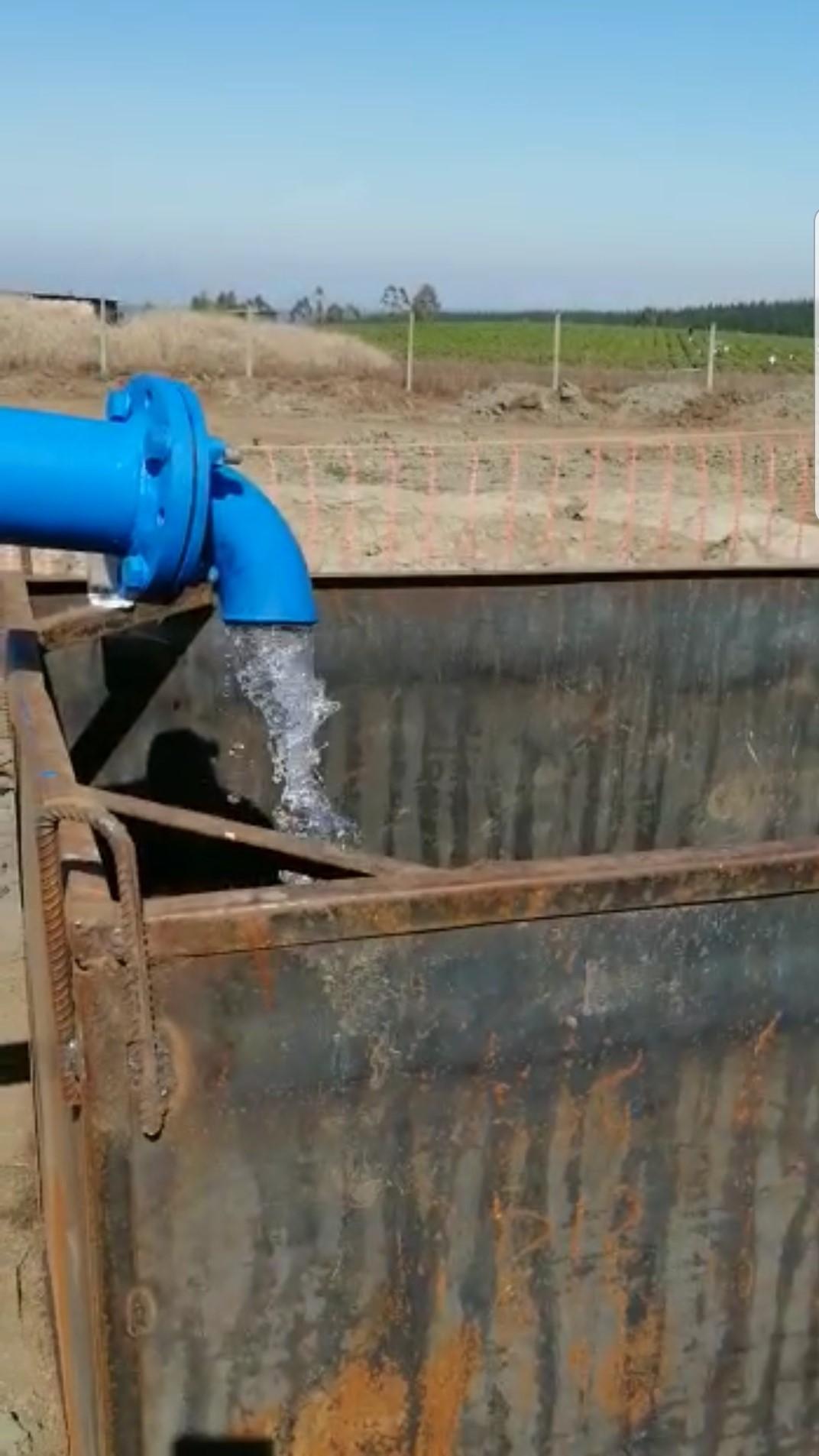 SEREMI del MOP inspeccionó construcción de pozo profundo en sector Pahuil de la comuna de Chanco