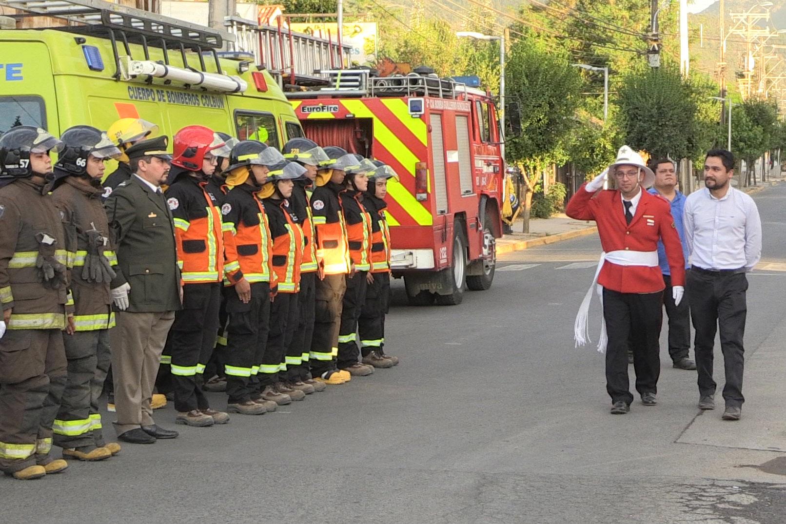 Municipalidad de Colbún aumentó subvención para el Cuerpo de Bomberos de la comuna