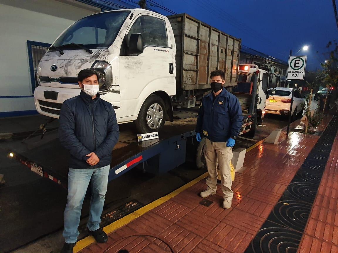 PDI Linares logra recuperar camión avaluado en 14 millones de pesos