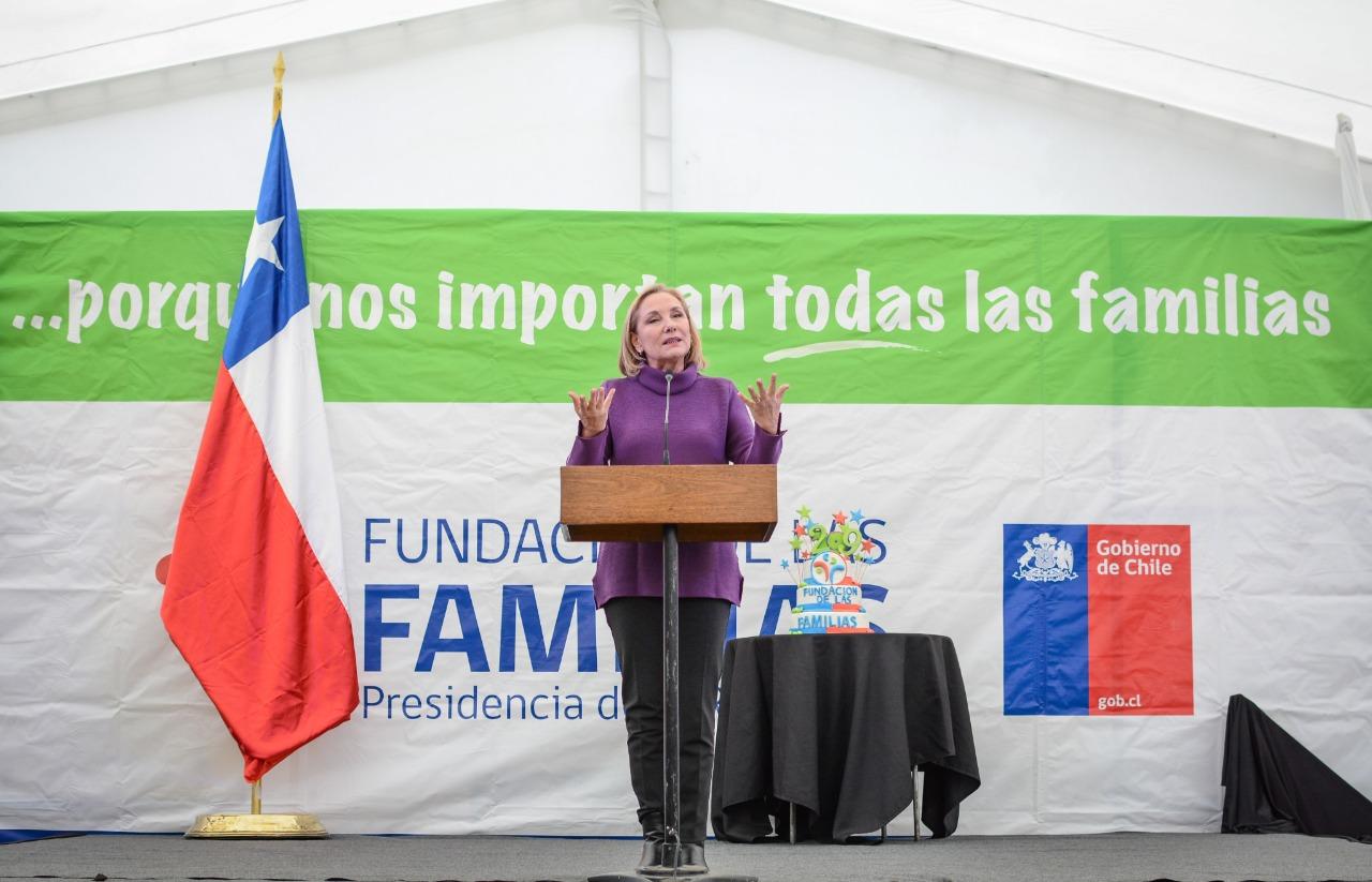 Fundación de las Familias: Primera Dama anuncia ayuda en asistencia sicológica a través de WhatsApp por Covid 19