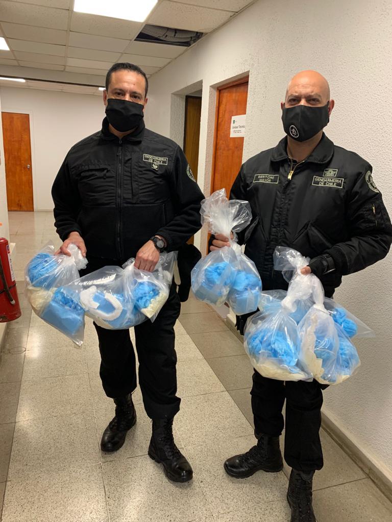 Penales de Maule, reciben importante cantidad de insumos para prevenir el Coronavirus
