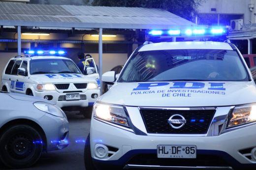 PDI Talca detuvo a cinco prófugos de la justicia con gran prontuario delictual
