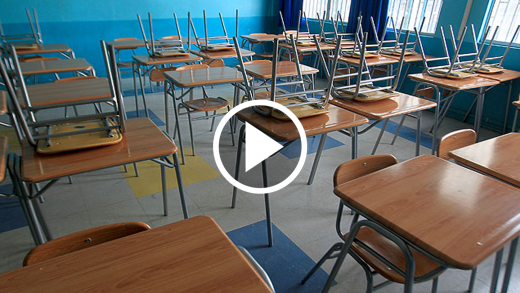 La deserción escolar llega a más de 1.500 alumnos en la región del Maule